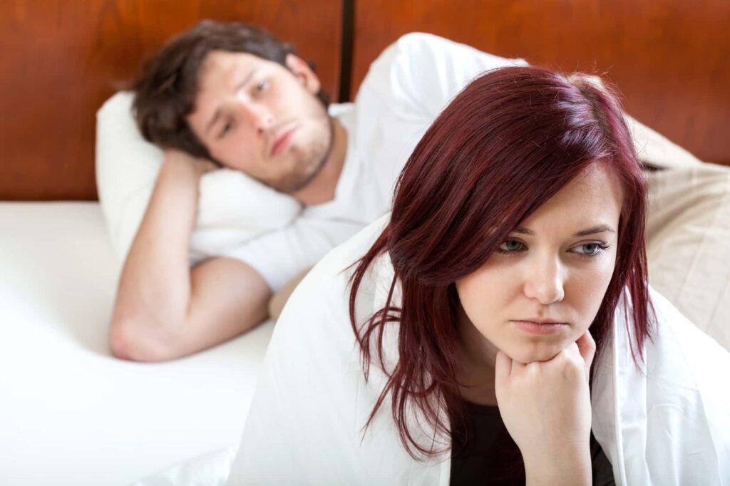 Plus de sensation lors des rapports sexuels : Ce que vous devez faire!